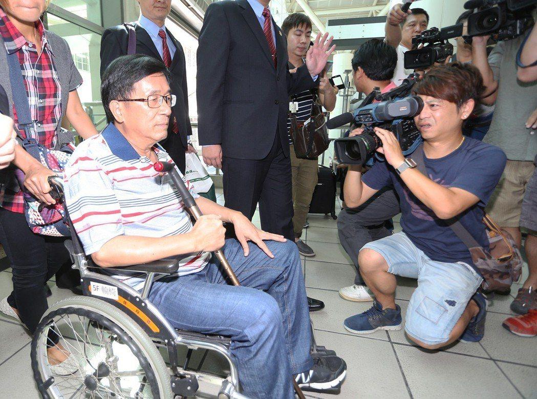 陳水扁保外就醫的病情太離奇了,讓人霧裡看花。。圖/聯合報系資料照片