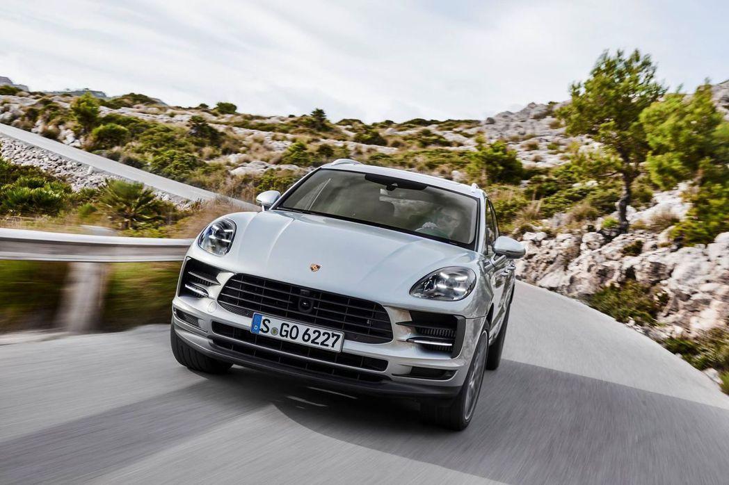小改款Porsche Macan S搭載全新 3.0 升 V6 渦輪增壓汽油引擎...