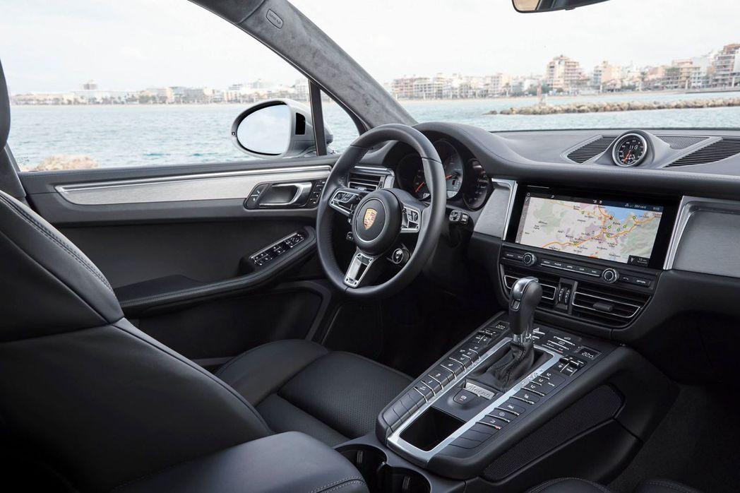 小改款Porsche Macan S內裝。 Porsche Taiwan提供