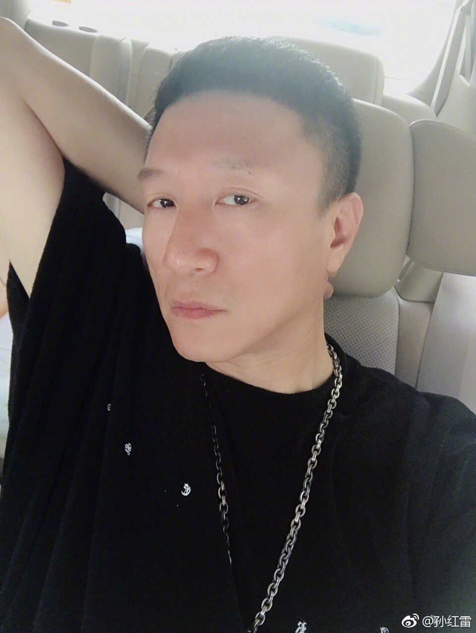 圖/擷自孫紅雷微博