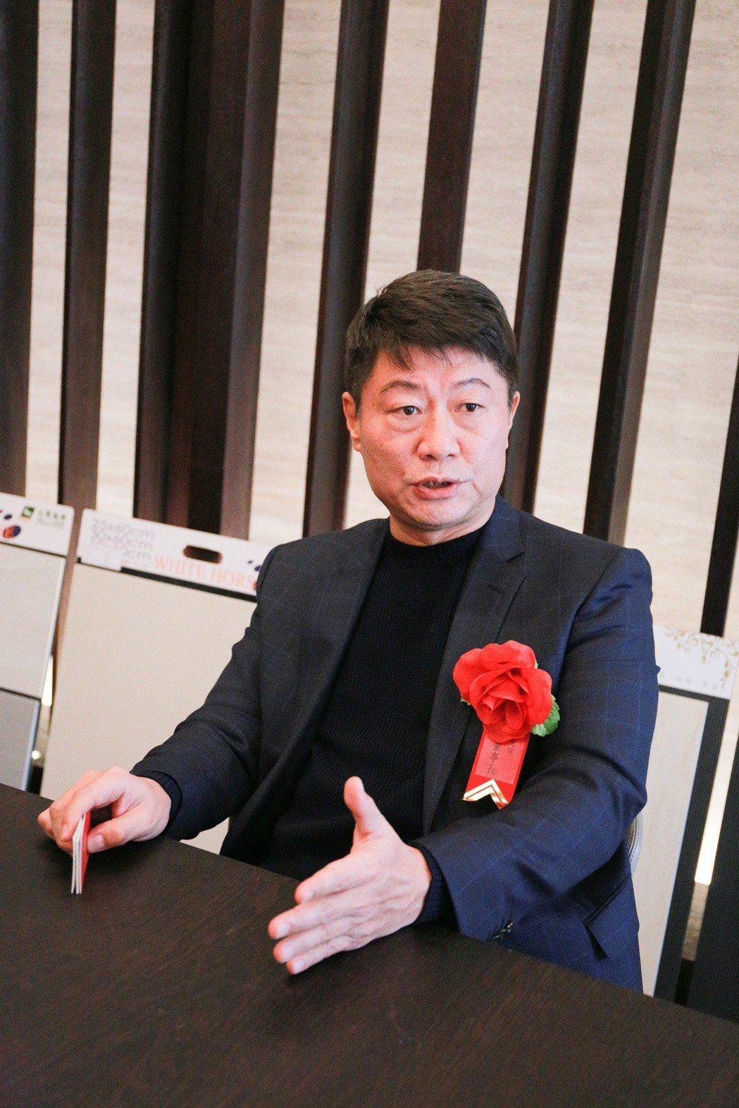 皇普建設董事長蘇永平表示,「皇普3.0」,正式開跑。 攝影/張世雅
