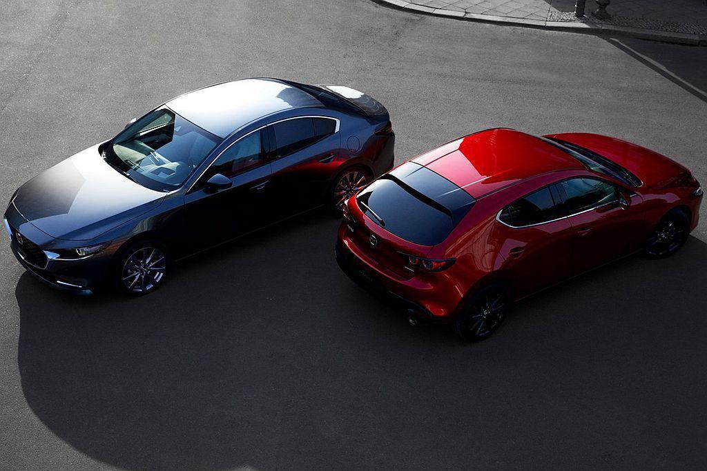全新第四代Mazda3將在日本當地首度公開亮相,不過卻是美規版本而非日規車型。 圖/Mazda提供