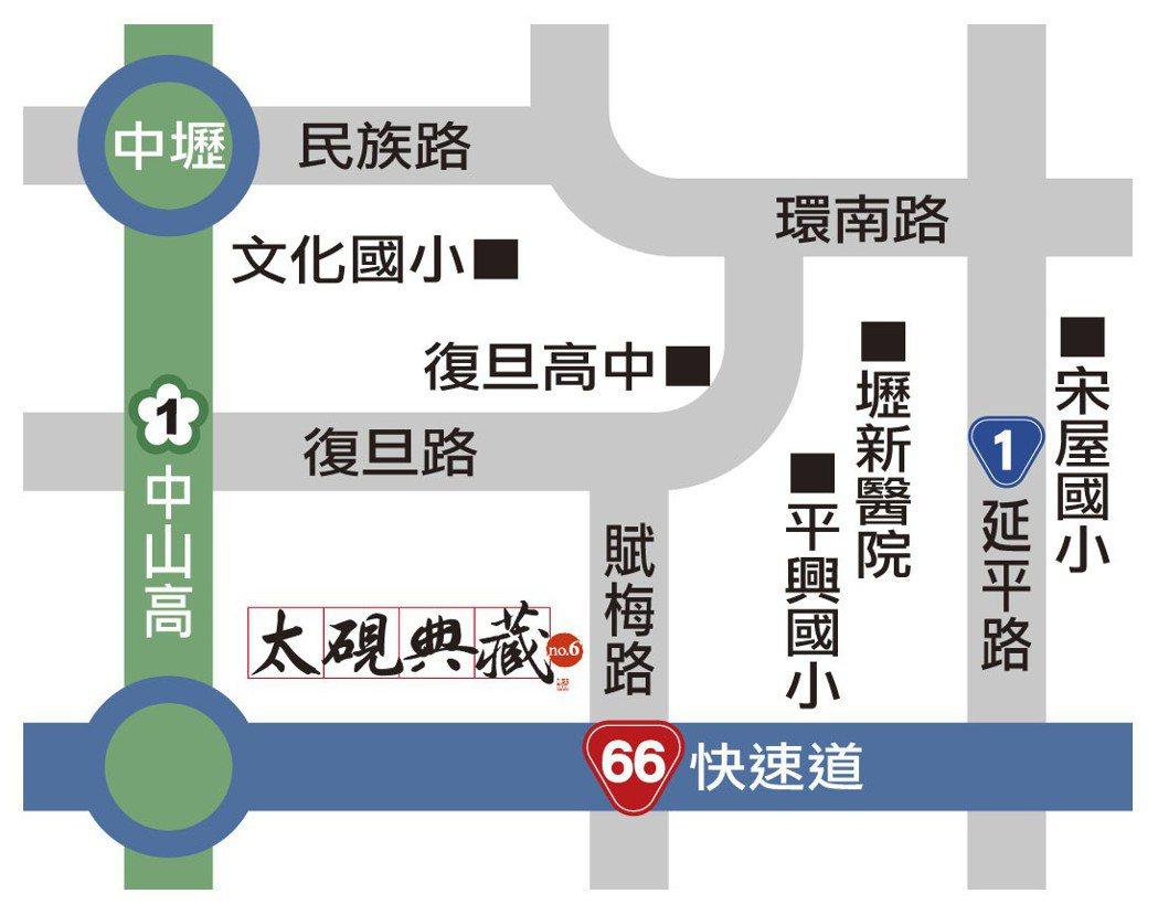 交通位置圖 圖/太硯典藏 提供