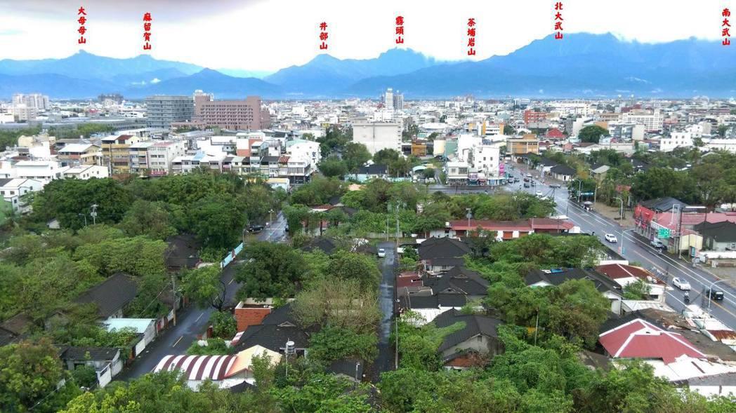 日本時代延續至今的歷史建築崇仁新村空翔區也將部分被解編。 圖/葉慶元提供