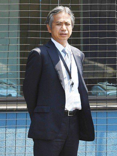 日本火腿鬥士隊球團經理吉村浩。 圖/作者提供