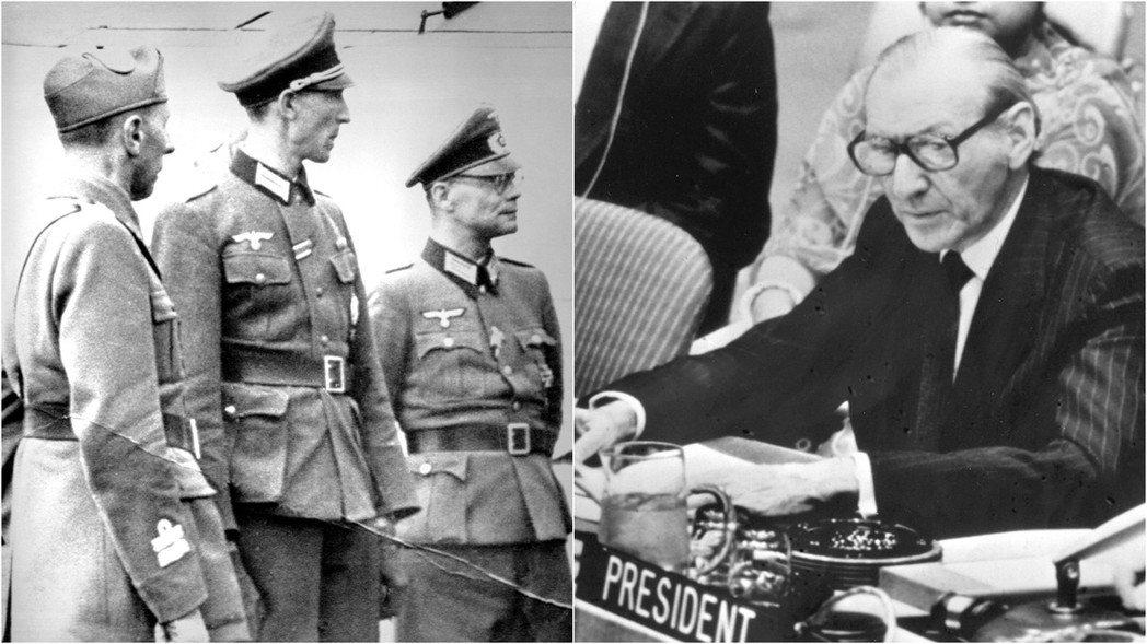 華德漢(Kurt Waldheim)在二戰期間,曾是德國國防軍的情報軍官,並曾在...