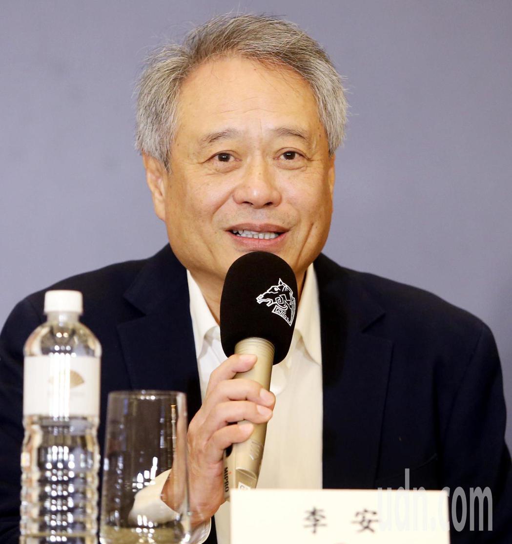 李安擔任今年台北金馬影展執委會主席。本報資料照/記者侯永全攝影