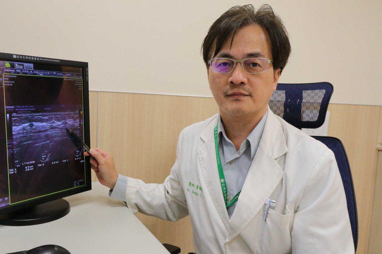 亞洲大學附屬醫院一般外科醫師黃瑞建表示,國健署提供45至69歲,以及40至44歲...