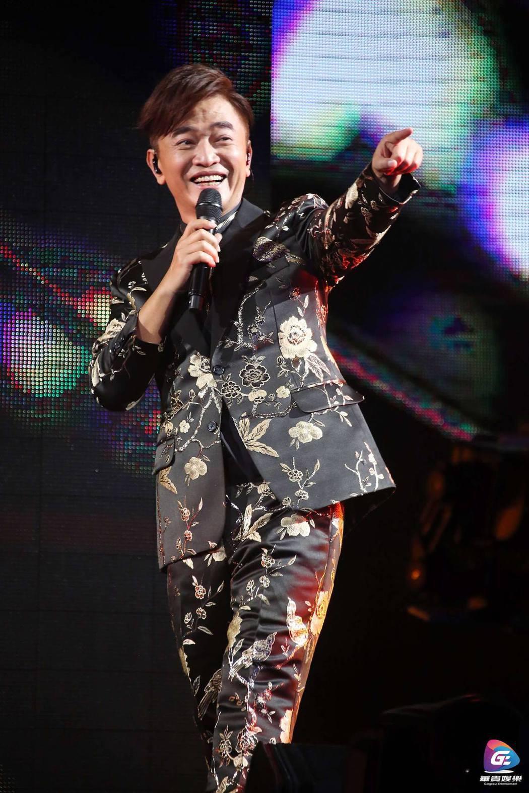吳宗憲今年完成2場小巨蛋個人演唱會。圖/華貴娛樂提供