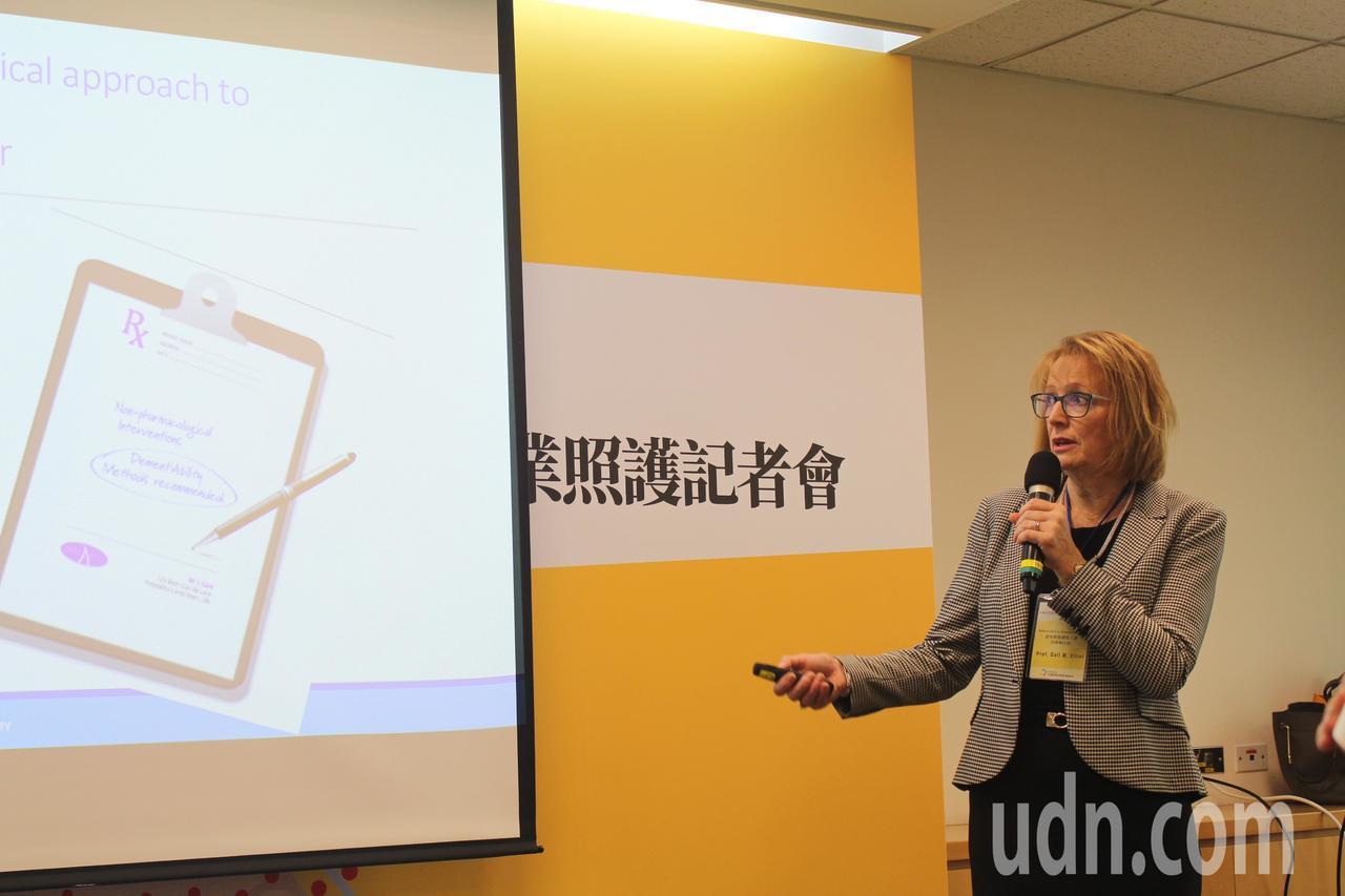 「蒙特梭利式認知悠能」模式創辦人Gail Elliot,來自加拿大的她為此來台訪...