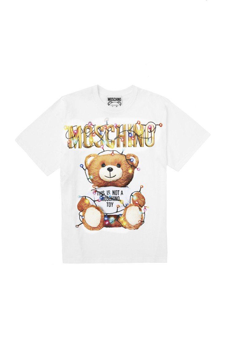 Teddy Holiday短袖T恤,13,300元。圖/Moschino提供