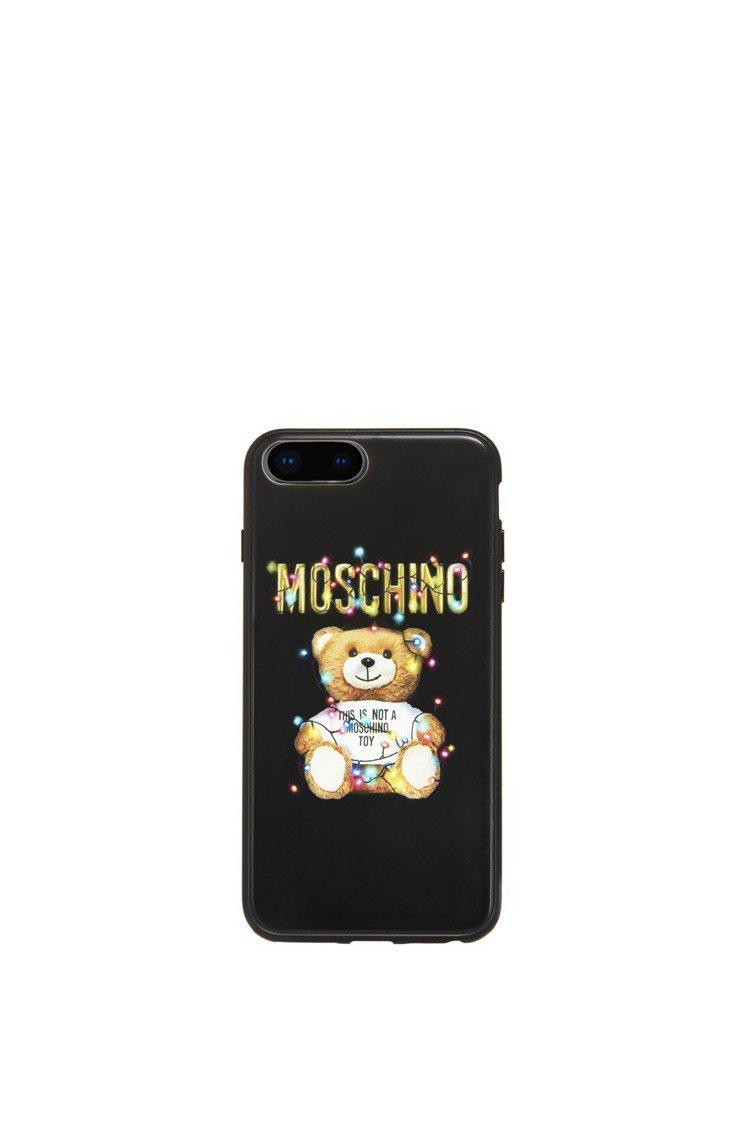 Teddy Holiday手機殼2,900元。圖/Moschino提供