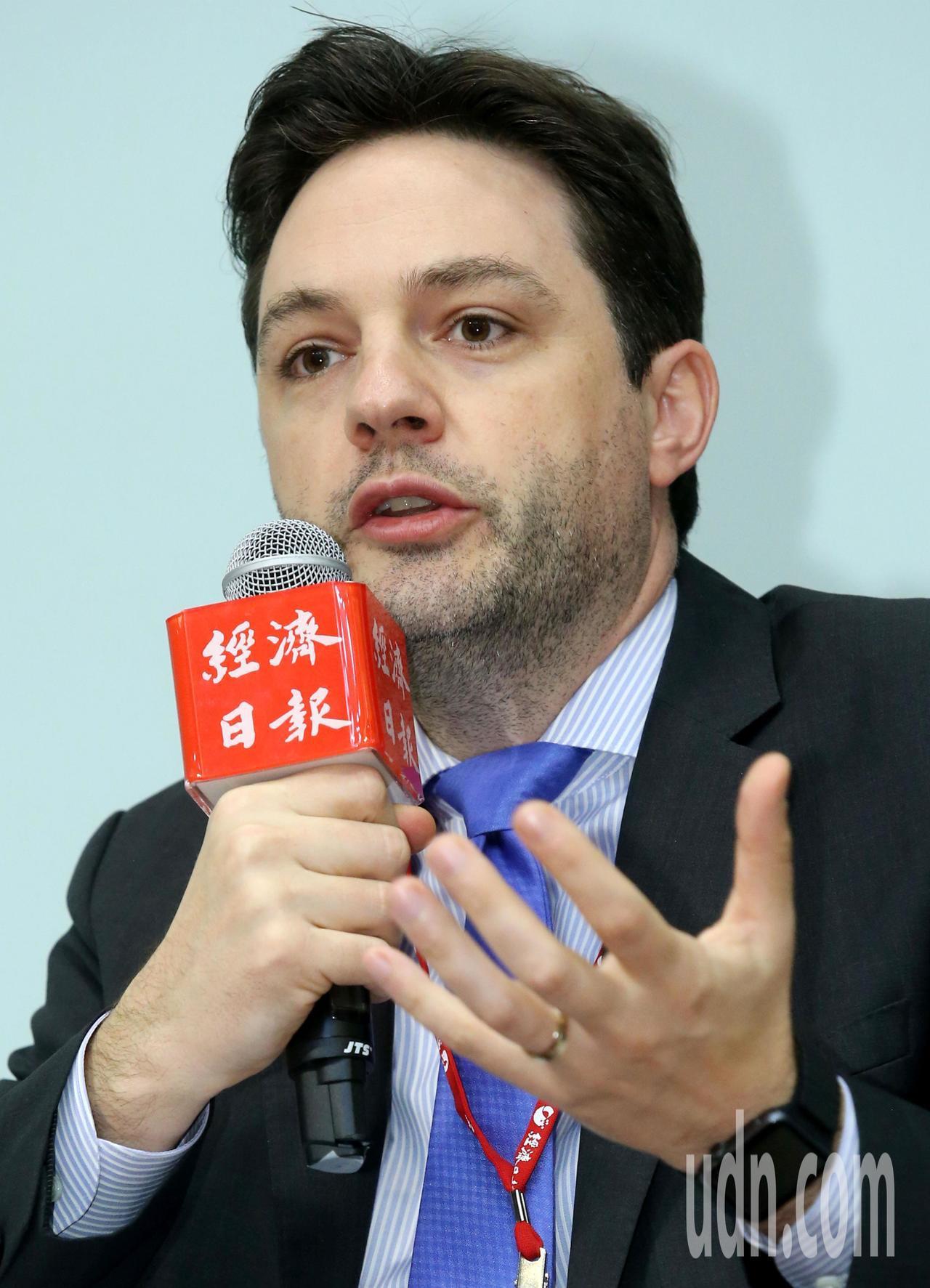 沃旭能源亞太區總裁暨台灣董事長柏森文。本報資料照片