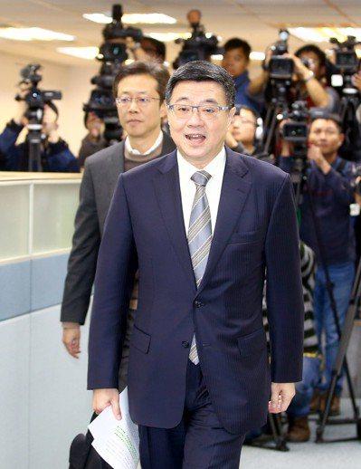 民進黨中生代共推行政院秘書長卓榮泰角逐主席。 圖/聯合報系資料照片