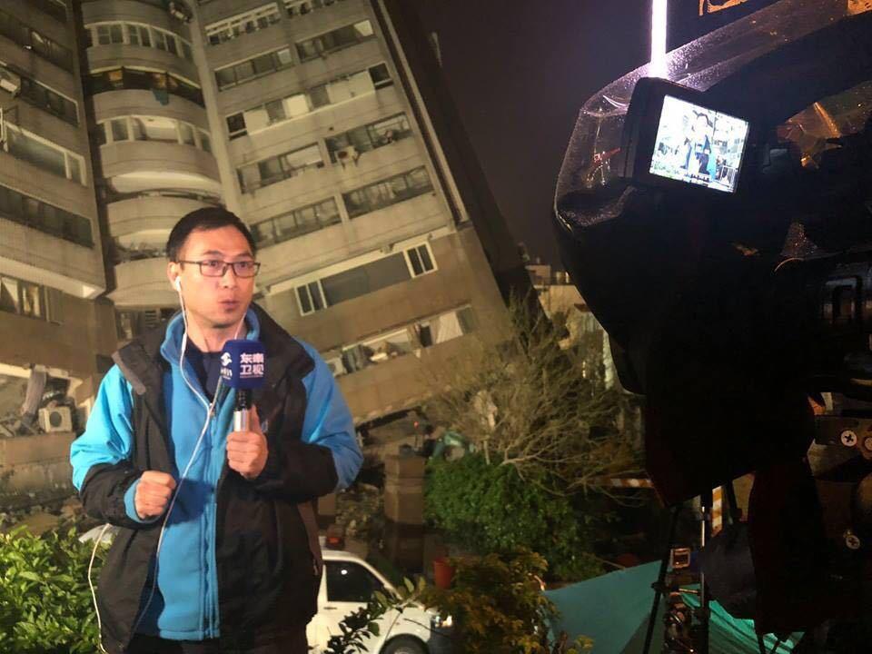 東南衛視記者葉青林申請駐台遭拒。 圖/取自臉書