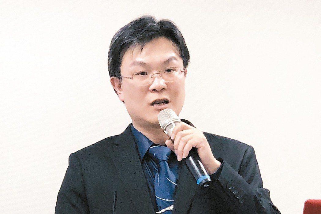 承啟發言人周子安。 記者蕭君暉/攝影
