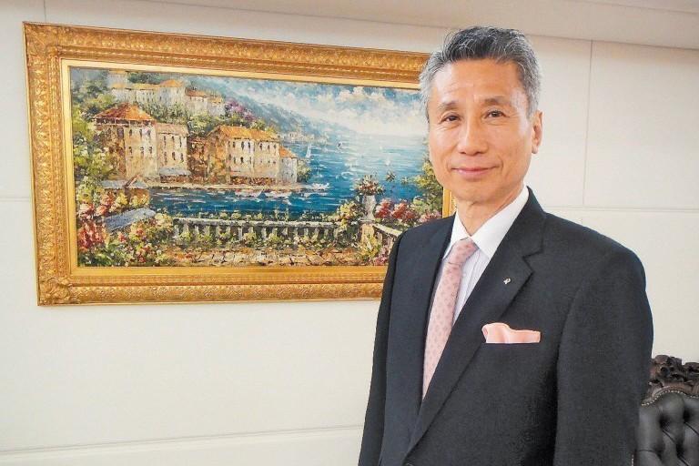 三圓董事長王光祥。聯合報系資料照
