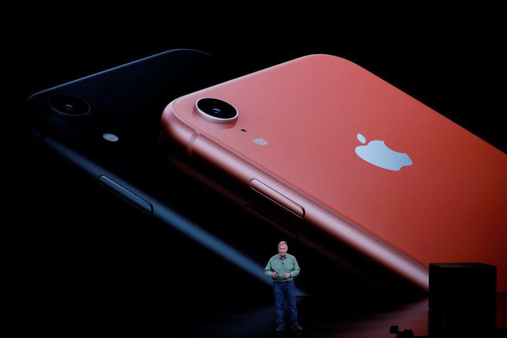 蘋果新機明年Q1銷量不被看好,圖為iPhone XR。路透