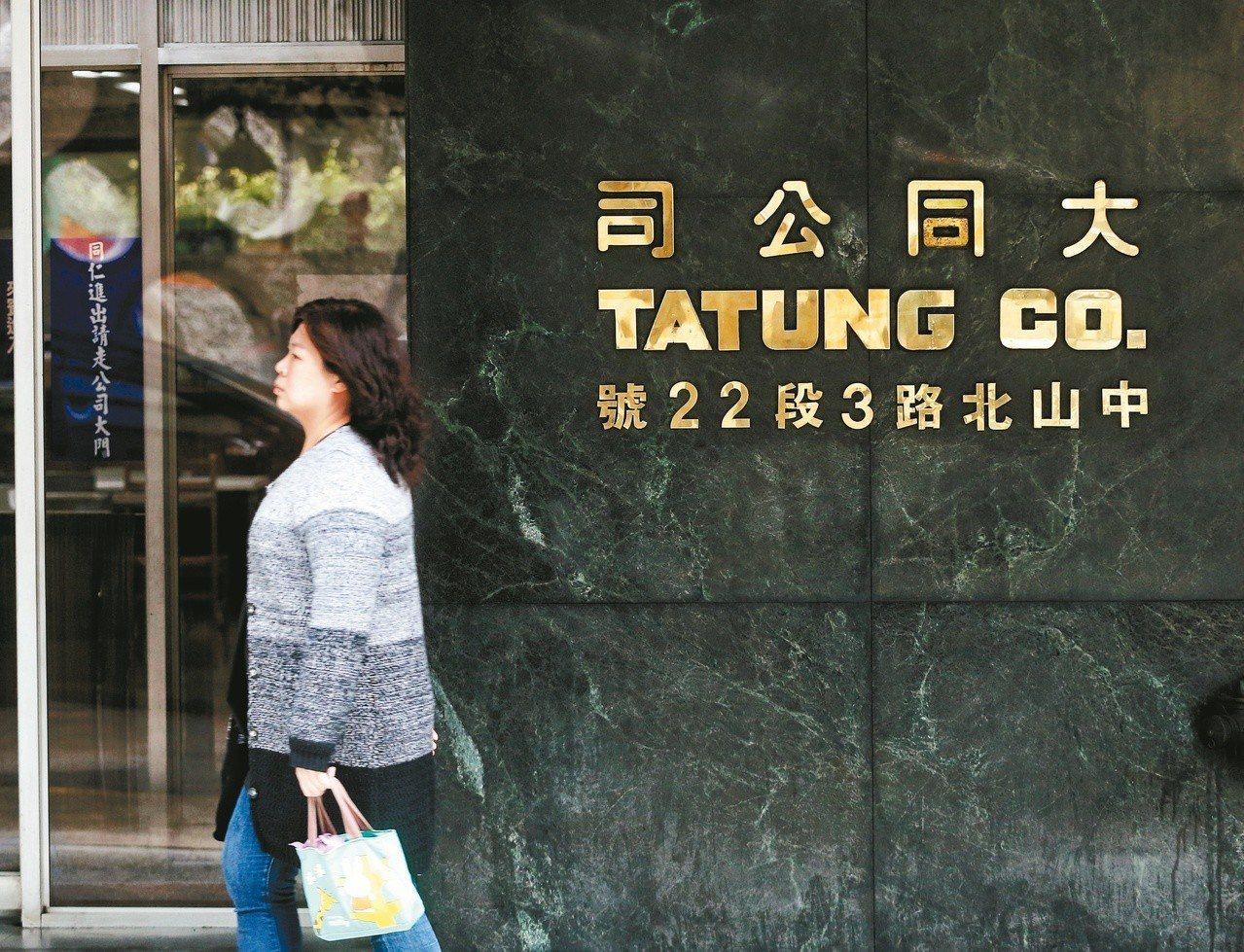大同(2371)今日股價跌停鎖死,圖為大同公司台北設計工廠大樓。 記者鄭清元/攝...