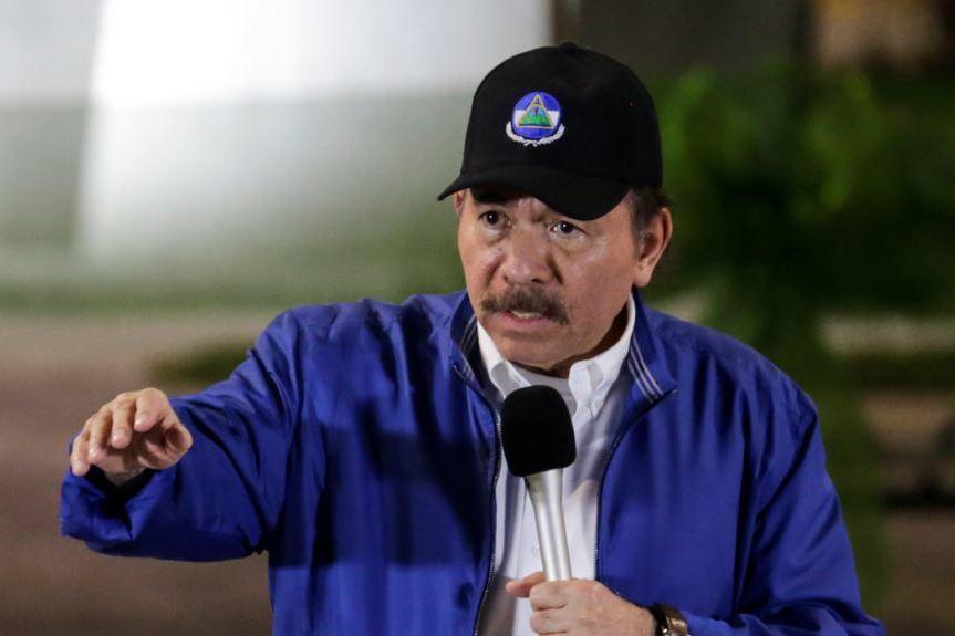 尼加拉瓜總統奧蒂嘉。 路透