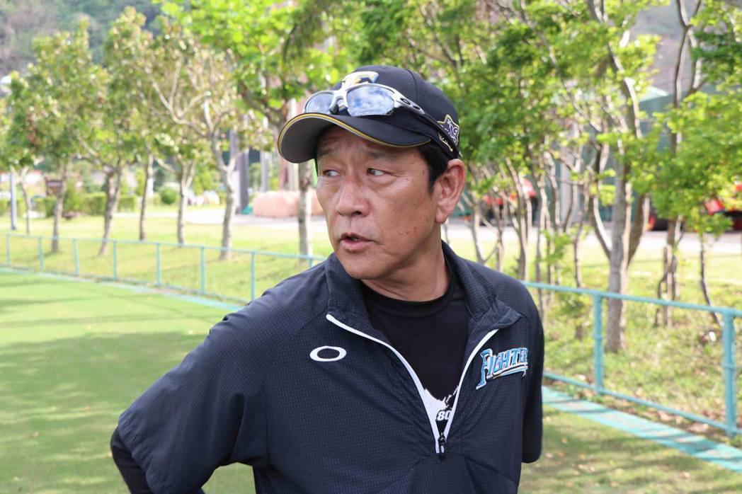 火腿隊總教練栗山英樹。 圖/作者提供
