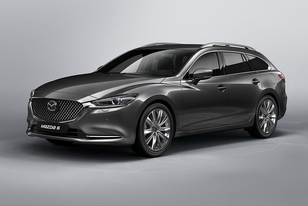 不少人期待許久的小改款Mazda6 Wagon,搭載2.2L Sky-D渦輪柴油引擎可跑出18.9km/L的平均油耗表現。 圖/Mazda提供