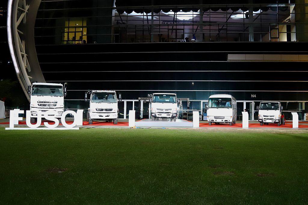 FUSO商用車全方位運用進口與組裝等銷售模式,讓產品線涵蓋輕、中、重型卡車與輕、...