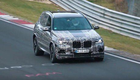影/新世代BMW X5 M偽裝現身 進場挑戰紐伯林賽道