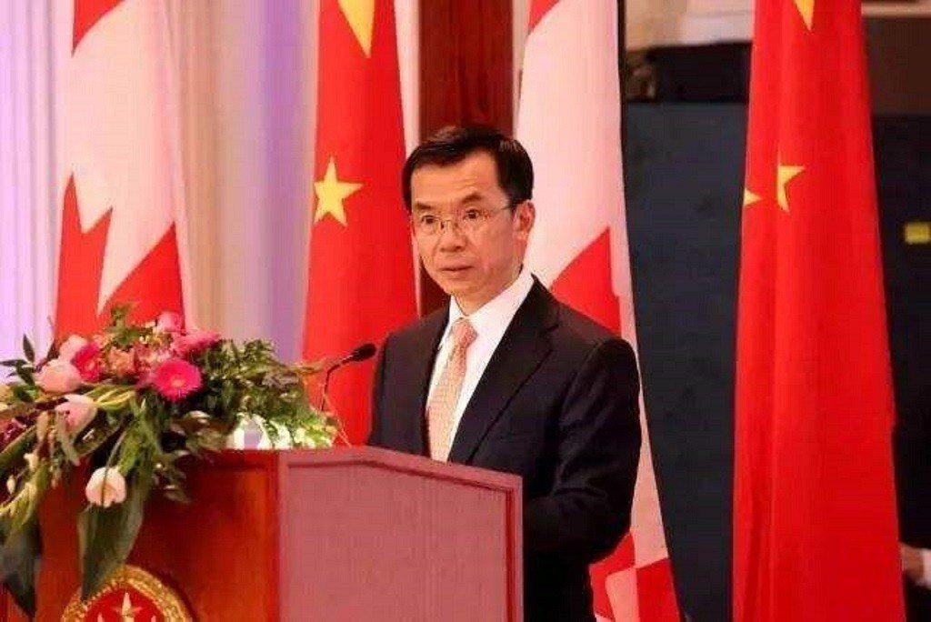 中共駐加拿大大使盧沙野。環球網
