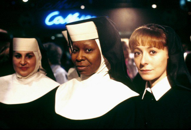 「修女也瘋狂」傳出將要推出新續篇,卻不會再找琥碧戈柏等老班底參與演出。圖/摘自i...