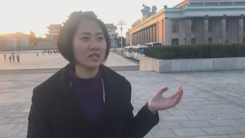 北韓在加速開放觀光腳步,打出「美女牌」迎接來自世界各地的旅客。記者侯俐安/攝影