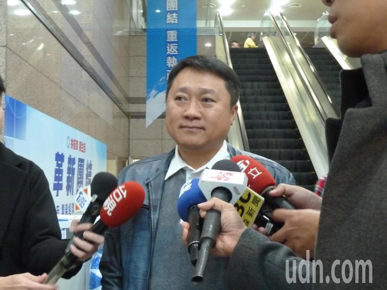 國民黨組發會主委李哲華。 圖/聯合報系資料照片