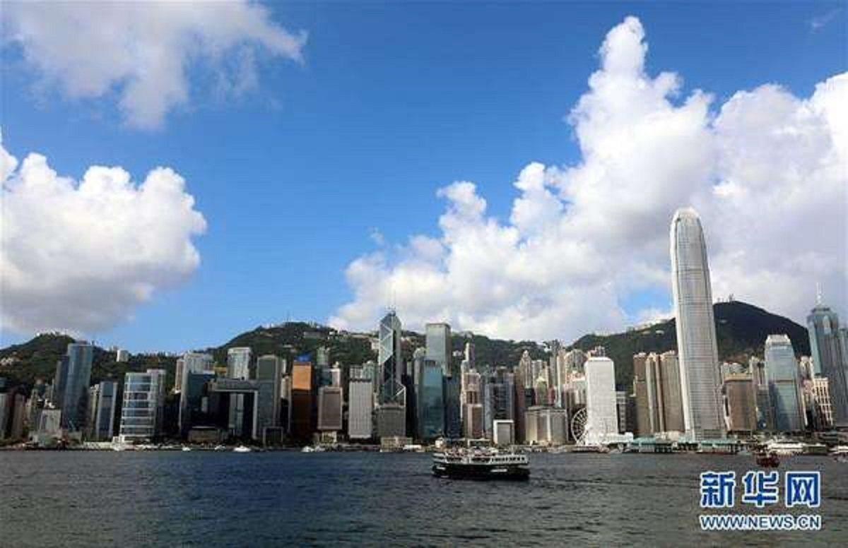 香港財政司長陳茂波與大陸商務部14日簽署「內地與香港關於建立更緊密經貿關係的安排...