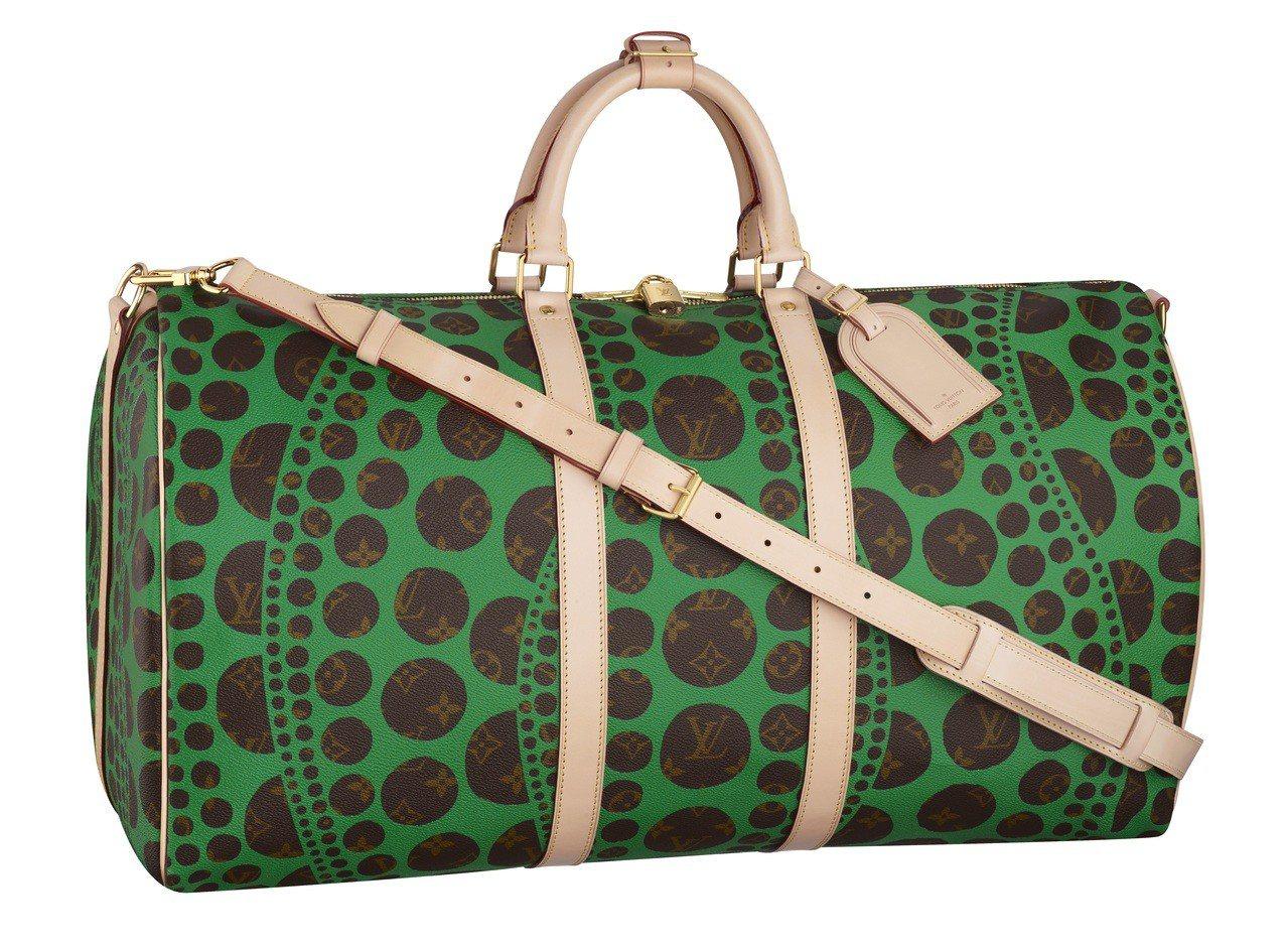 品牌前任創意總監Marc Jacobs在2012秋冬推出與草間彌生聯名設計的Ke...