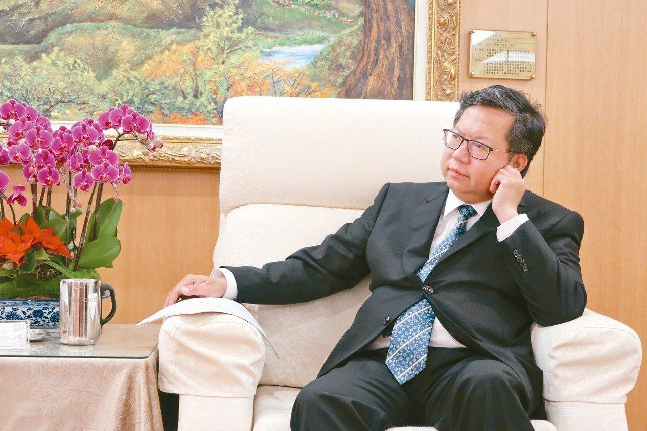 桃園市長鄭文燦認為,市民眼睛是雪亮的,選舉期間口水戰「無法抹滅我所做的努力」。 ...
