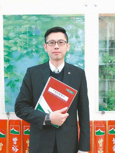 信義房屋經國店店長詹家杰,42歲,入行15年 圖/信義房屋提供