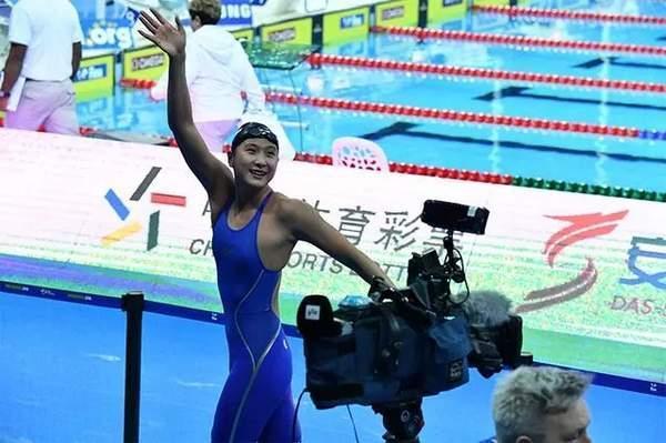 16歲的王簡嘉禾是中國女子中長距離自由泳的「第一人」。 取材自北青網