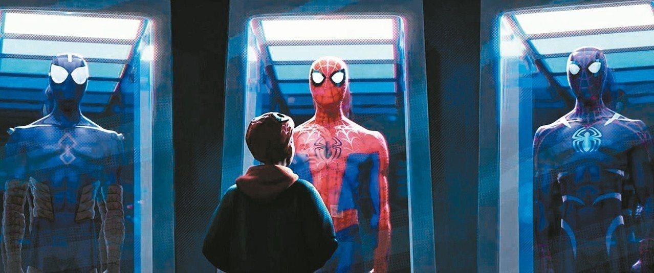 「蜘蛛人:新宇宙」是極為精彩的超級英雄動畫片。 圖/索尼提供
