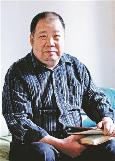 二月河。(取材自北京青年報)