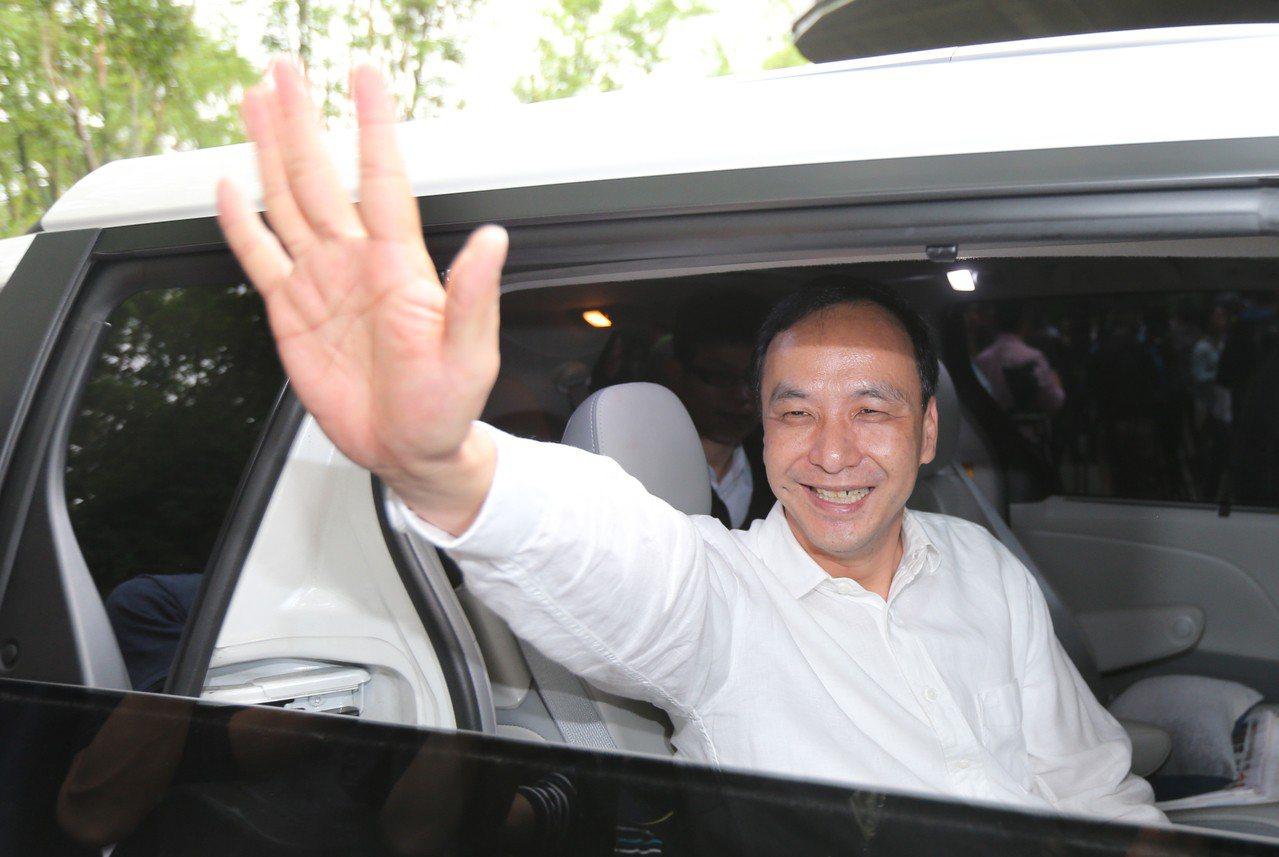 命理師楊登嵙表示,2020總統大選國民黨派朱立倫參選最有希望獲勝。 聯合報系資料...