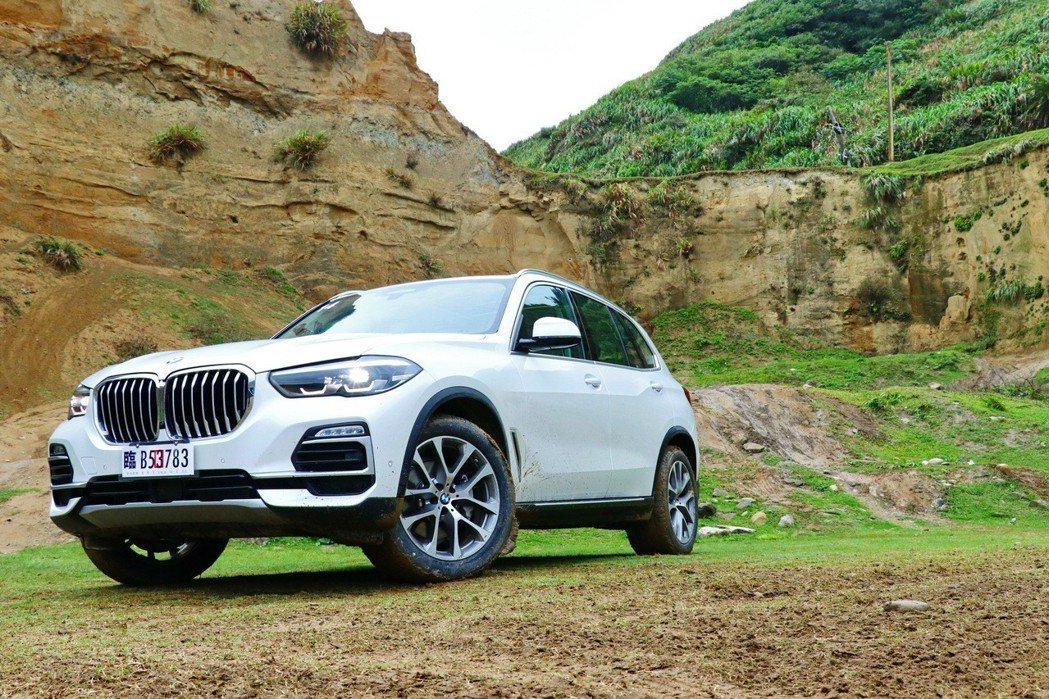 BMW X5 xDrive40i。 記者陳威任/攝影