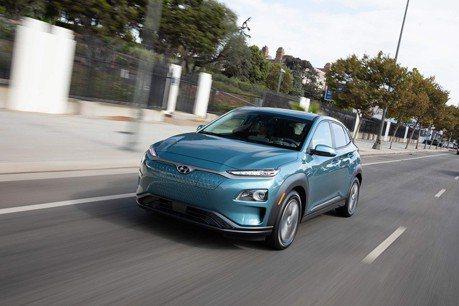 3萬美金就能入主的Hyundai Kona Electric電動跨界休旅車