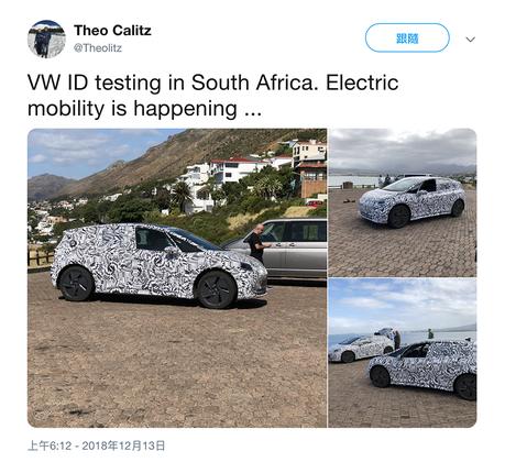 VW ID Hatchback偽裝車遭直擊!外型與概念相差不遠