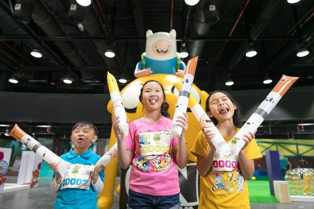 「卡通頻道猴塞雷!瘋狂運動會」將於國立臺灣科學教育館盛大開幕,匯集七部超高人氣的