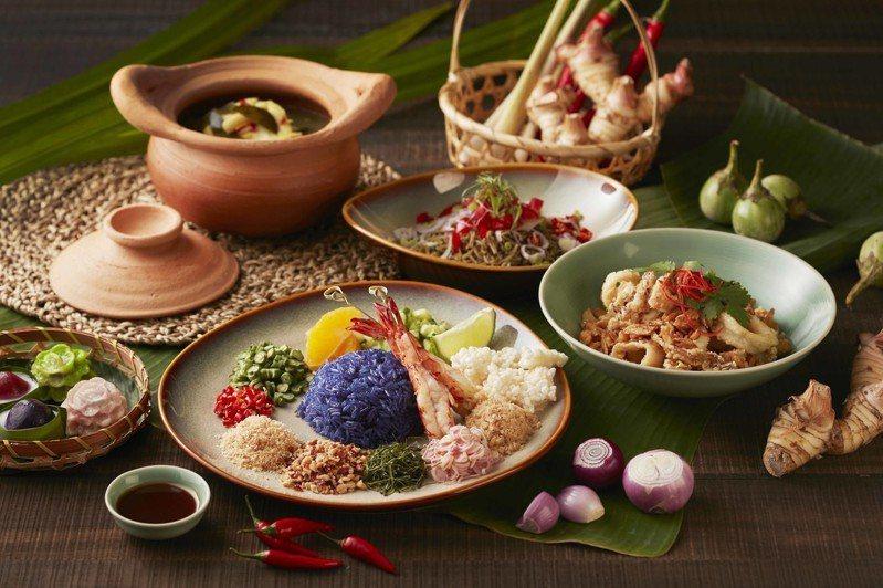 台北喜來登SUKHOTHAI新推出一系列「探味巷弄」主廚推薦菜。圖/台北喜來登提供