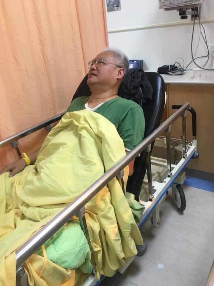 范可欽手術成功。圖/摘自應曉薇臉書