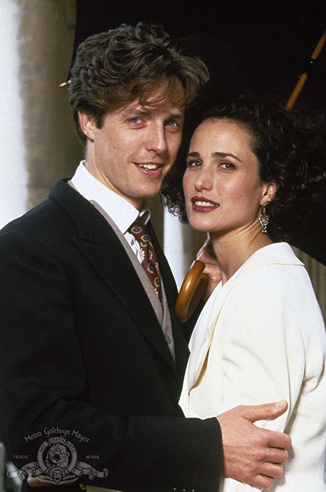「妳是我今生的新娘」休葛蘭與安蒂麥道威爾的搭配,曾經紅極一時。圖/摘自imdb