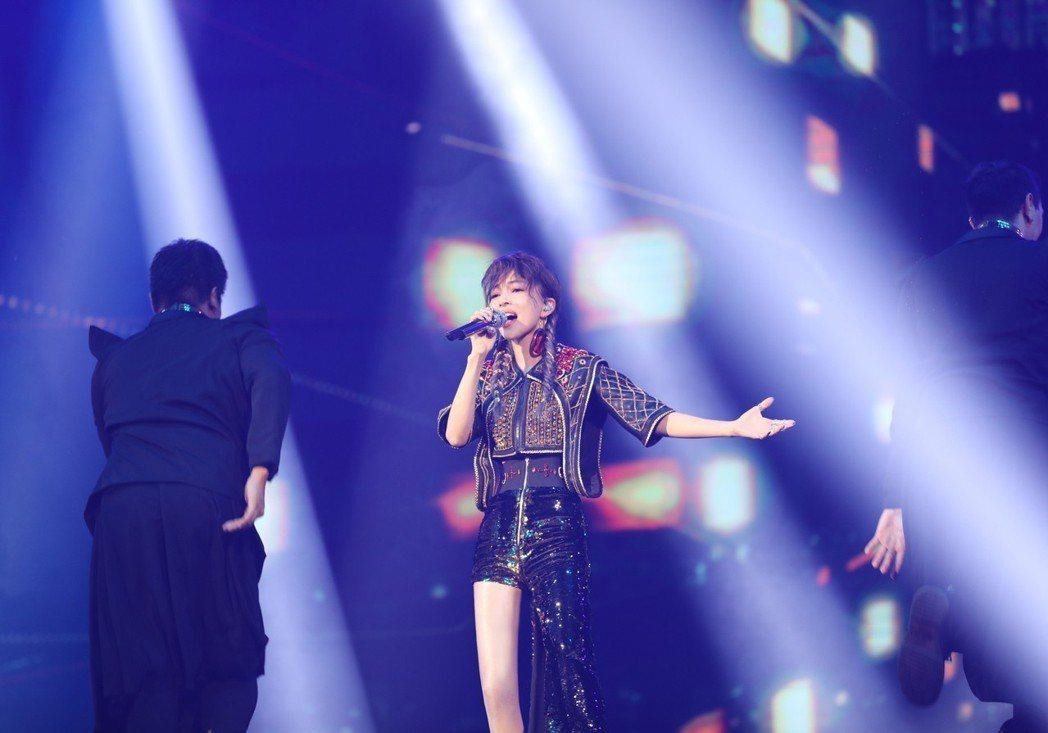 張韶涵14、15日兩天在台北小巨蛋開唱。圖/IMC Live Global提供