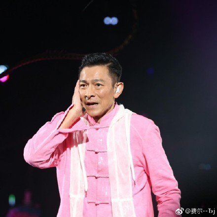 劉德華15日在香港舉辦巡演首場。圖/摘自微博