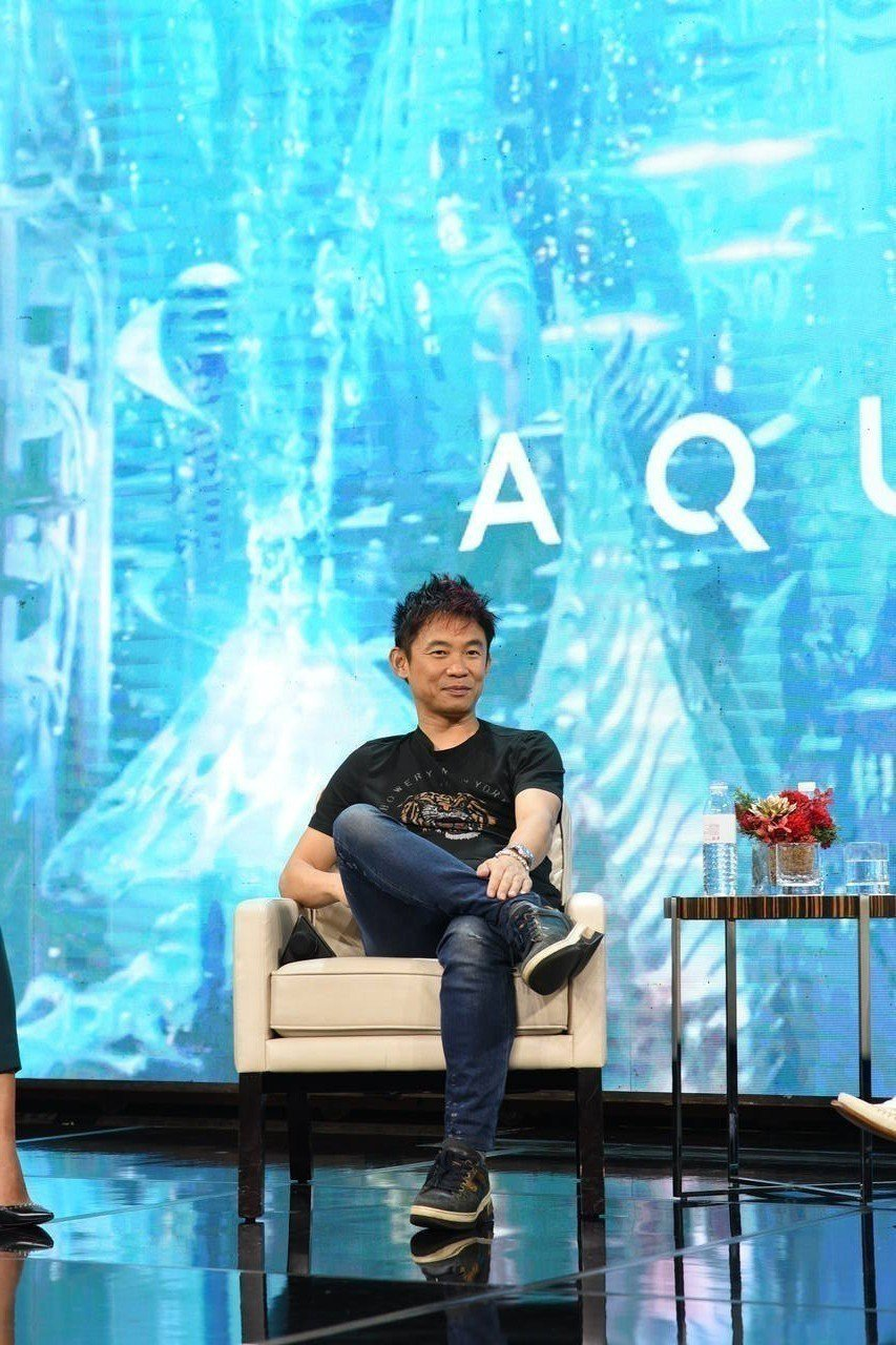 「水行俠」導演溫子仁。圖/華納兄弟提供